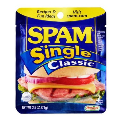 SPAM Single Classic Slice - 2.5oz