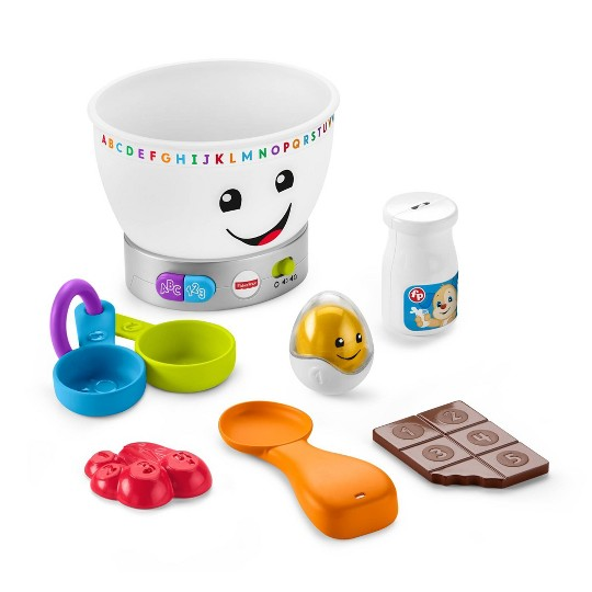 Fisher-Price Laugh 'N Learn Magic Color Mixing Bowl image number null