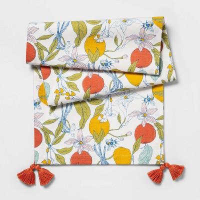 Lemon & Bee Floral Runner - Opalhouse™