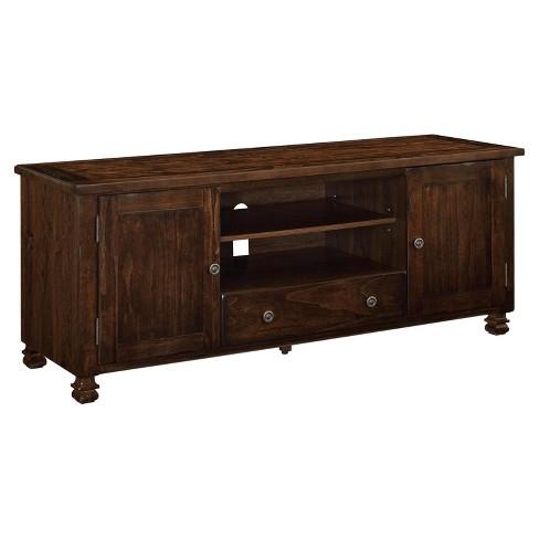 Avondale Wood Veneer TV Stand - Room & Joy
