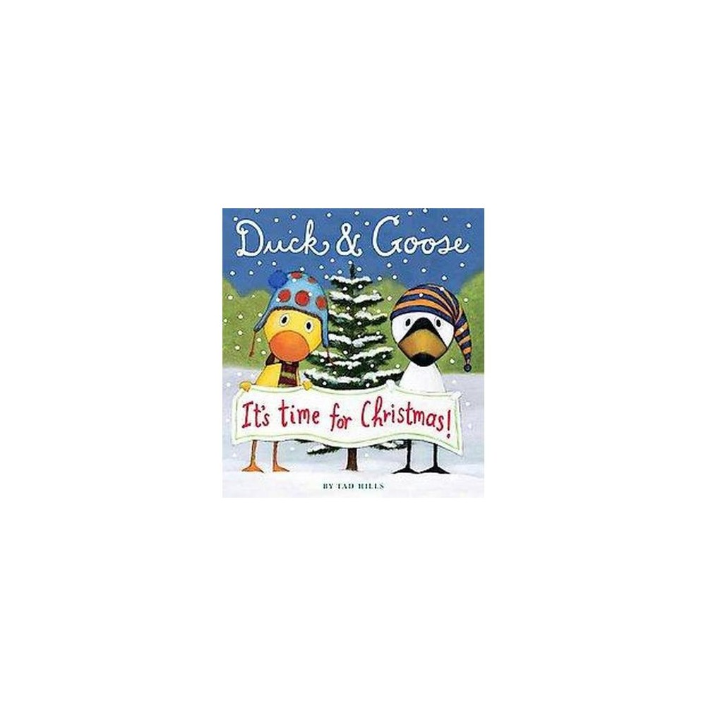 It's Time for Christmas (Hardcover) (Tad Hills)