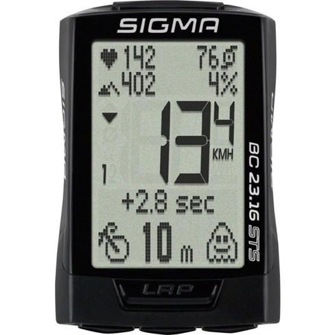 Sigma BC 23.16 STS Triple Wireless Bike Computer - Wireless Black - image 1 of 1
