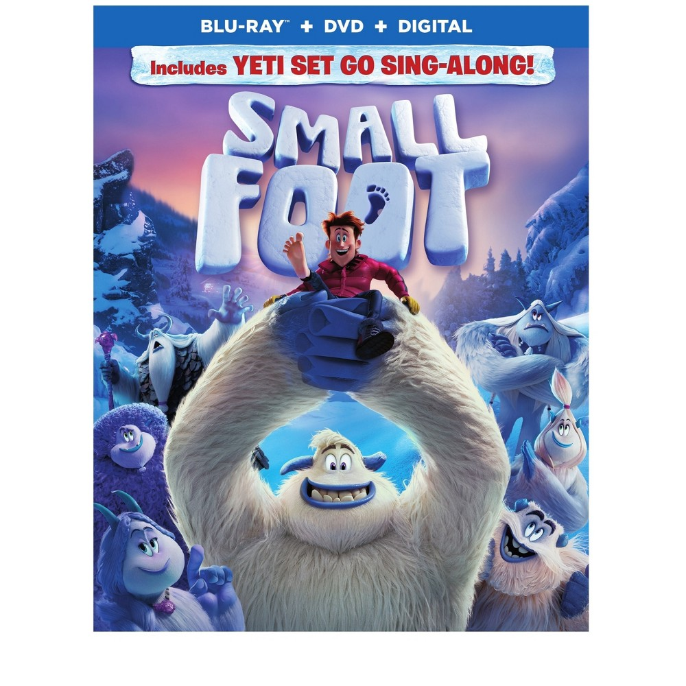 Smallfoot (Blu-Ray + Dvd + Digital)