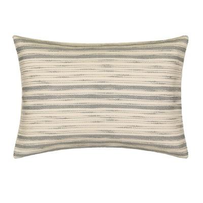 Lila Geo Jacquard Throw Pillow - Vue