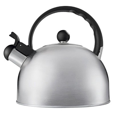 Copco Tucker Tea Kettle- 1.5 Quarts, Brushed Stainless Steel