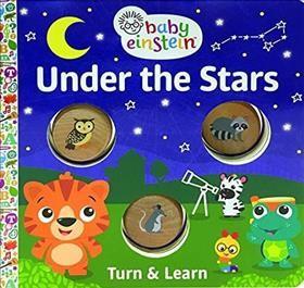 Under the Stars - (Baby Einstein Turn & Learn)(Hardcover)