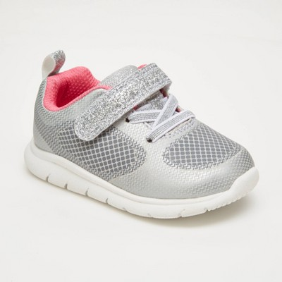 Baby Girls' Trainee Sneakers - Just One You® made by carter's Silver