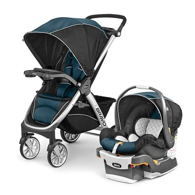 Chicco Bravo Travel System - Lake