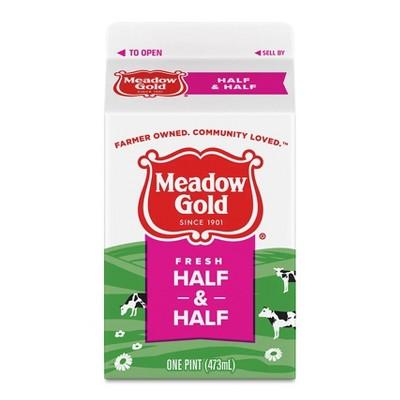 Meadow Gold Half & Half - 1pt