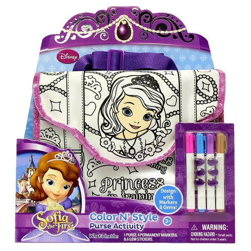 Sofia the First Color N Style Purse - image 1 of 2