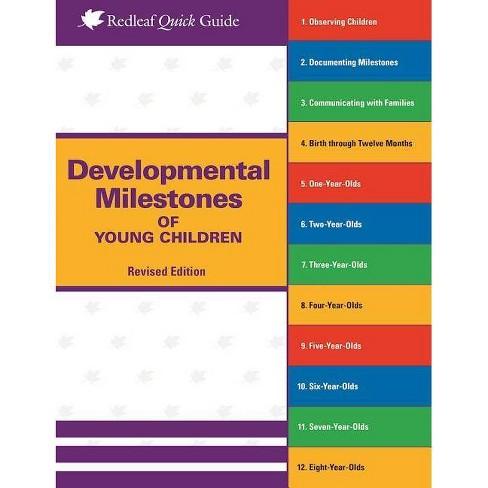 Developmental Milestones of Young Children - (Redleaf Quick Guides) by  Redleaf Press (Paperback) - image 1 of 1