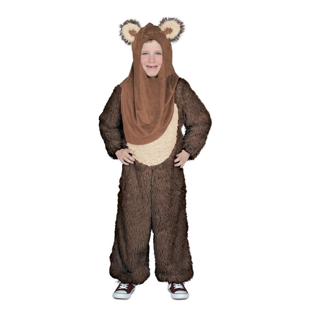 Kids' Star Wars Wicket W. Warrick Jumpsuit Halloween Costume M, Kids Unisex