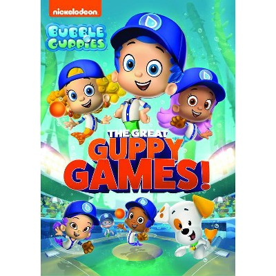 Bubble Guppies: The Great Guppy Games! (DVD)