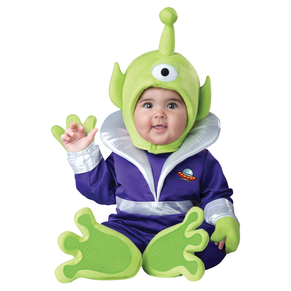 Image of Halloween Toddler Costume Mini Martian 12-18 Months, Adult Unisex, Size: 12-18M, MultiColored