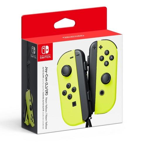 Nintendo Neon Yellow Joy-ConL/R - image 1 of 2