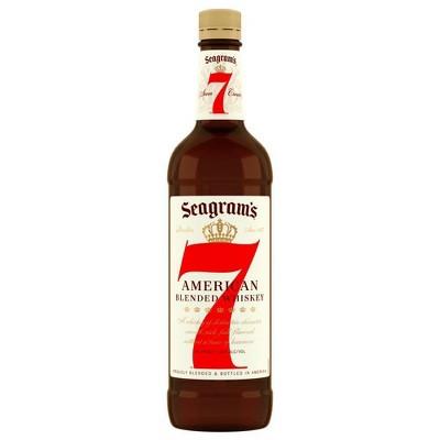 Seagram's 7 Crown American Whiskey - 750ml Bottle