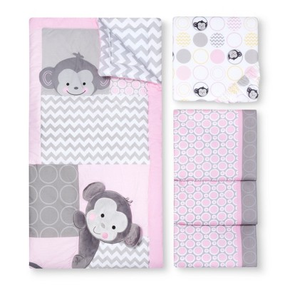 Pinkie 3pc Crib Bedding Set