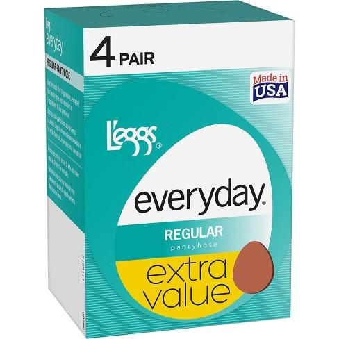06f27e338 L eggs® Women s Sheer Everyday Regular 4-Pack   Target