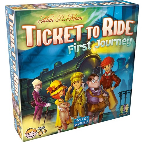 Ticket to Ride First Journey Board Game - image 1 of 3