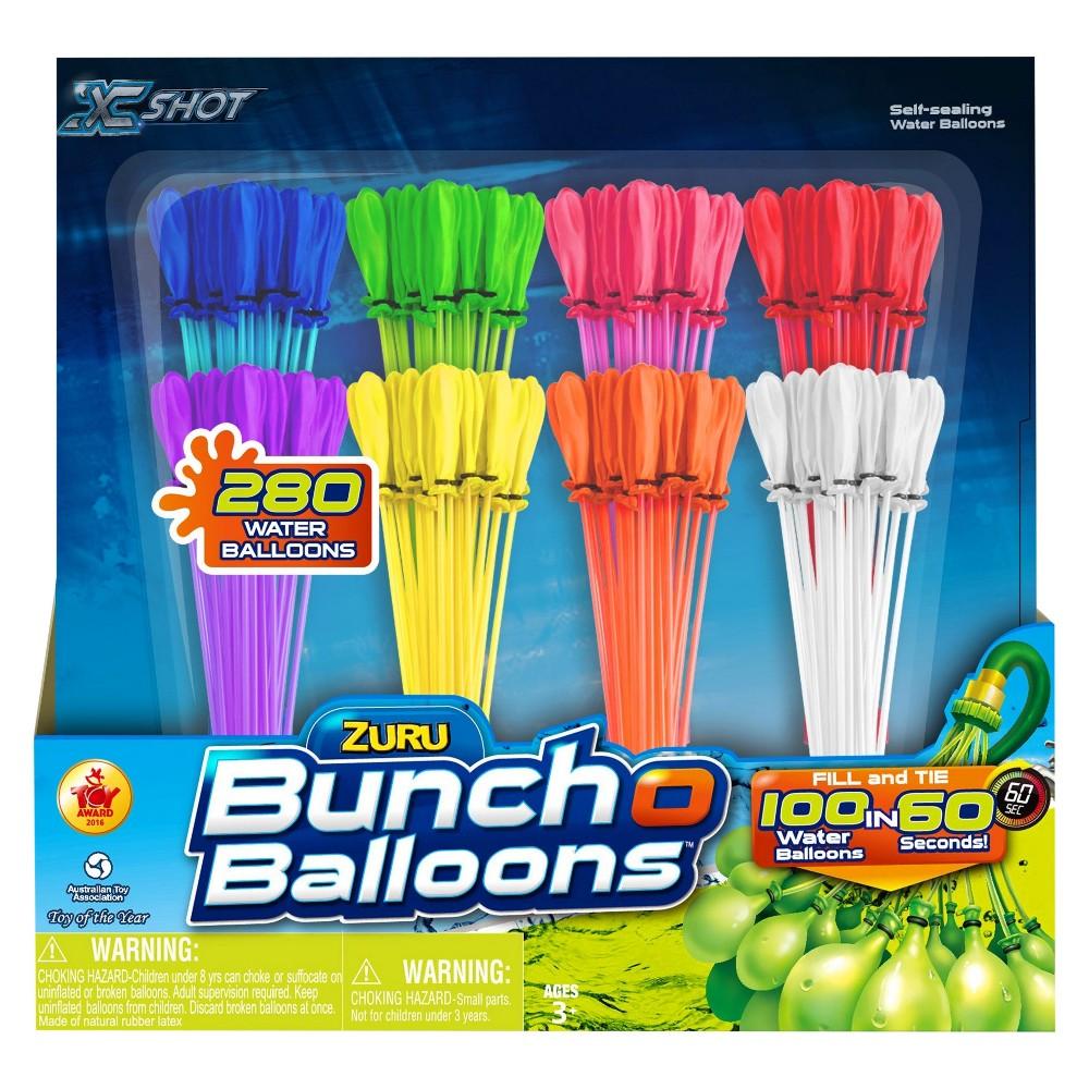 Zuru 8pk Bunch O Balloons - Block Party, Multi-Colored