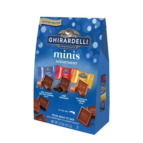 Ghirardelli Minis Assorted Chocolate Squares XL Bag - 12.3oz - image 1 of 4
