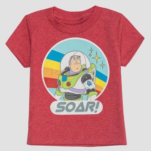 be23fa72eb3 Toddler Boys' Pixar Toy Story 3pk Short Sleeve T-Shirts - Blue Red   Target