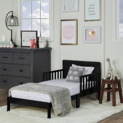 Dream On Me Brookside Toddler Bed - Black