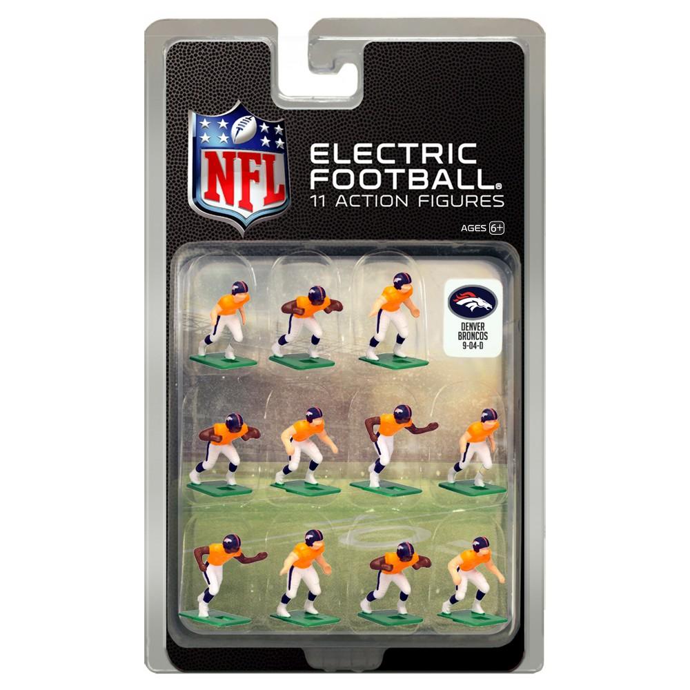 NFL Denver Broncos Tudor Games Home Uniform Electric Football Action Figure Set