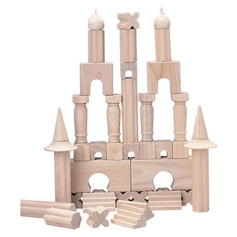 Creative Minds Wooden Architectural Unit Blocks - 40 Blocks - image 1 of 3