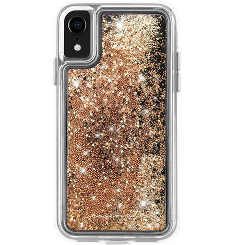 Case-Mate iPhone XR Waterfall Gold Case - image 1 of 4