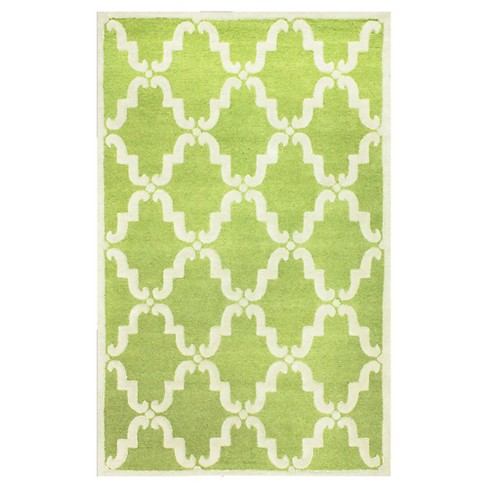 nuLOOM Wool Hand Tufted Divina Area Rug - Green (5' x 8') - image 1 of 4