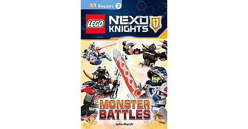 Monster Battles ( DK Readers. Lego) (Hardcover) - image 1 of 1