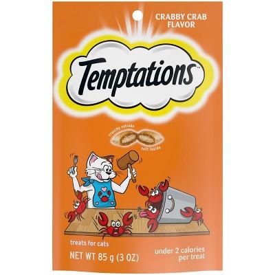 Temptations Crabby Crab Cat Treats - 3oz
