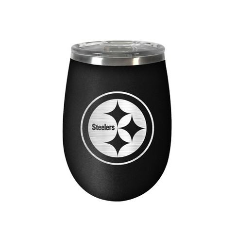 NFL Pittsburgh Steelers Stealth Wine Tumbler - 12oz - image 1 of 1