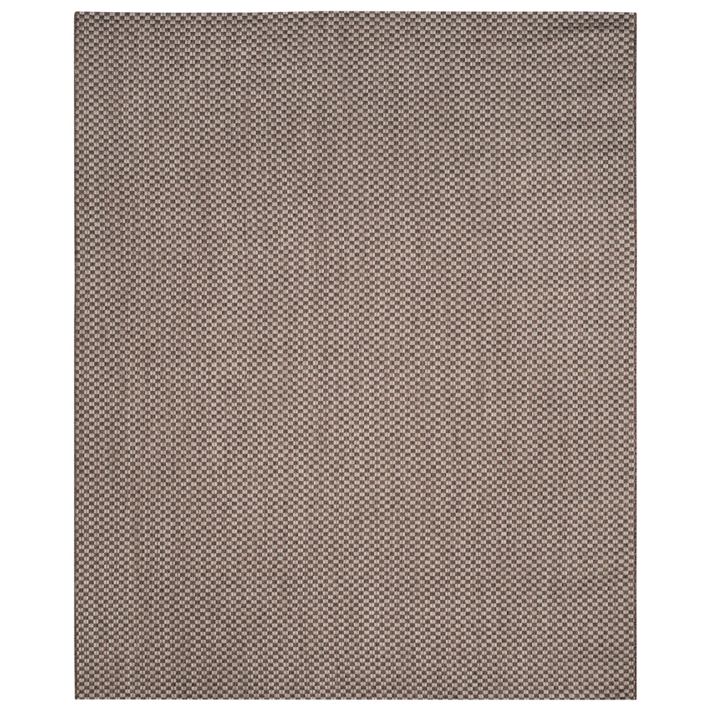Tabatha Indoor/Outdoor Rug - Light Brown / Light Gray (Light Brown/Light Gray) - 8' X 11' - Safavieh