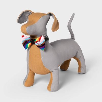 Pride Folded Rainbow Stripe Dog Bandana - Boots & Barkley™