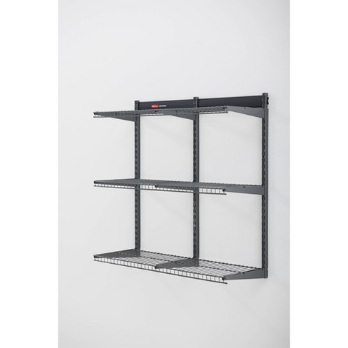 """Rubbermaid 36"""" FastTrack Garage Storage All-in-One Rail Shelving Kit - image 1 of 4"""