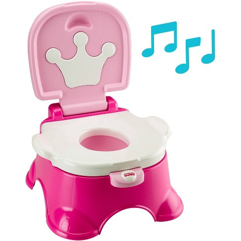 Fisher-Price Stepstool Potty - Pink - image 1 of 4