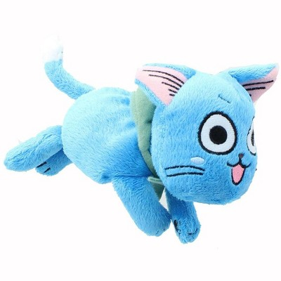 Great Eastern Entertainment Co. Fairy Tail 4-Inch Happy Prone Posture Plush
