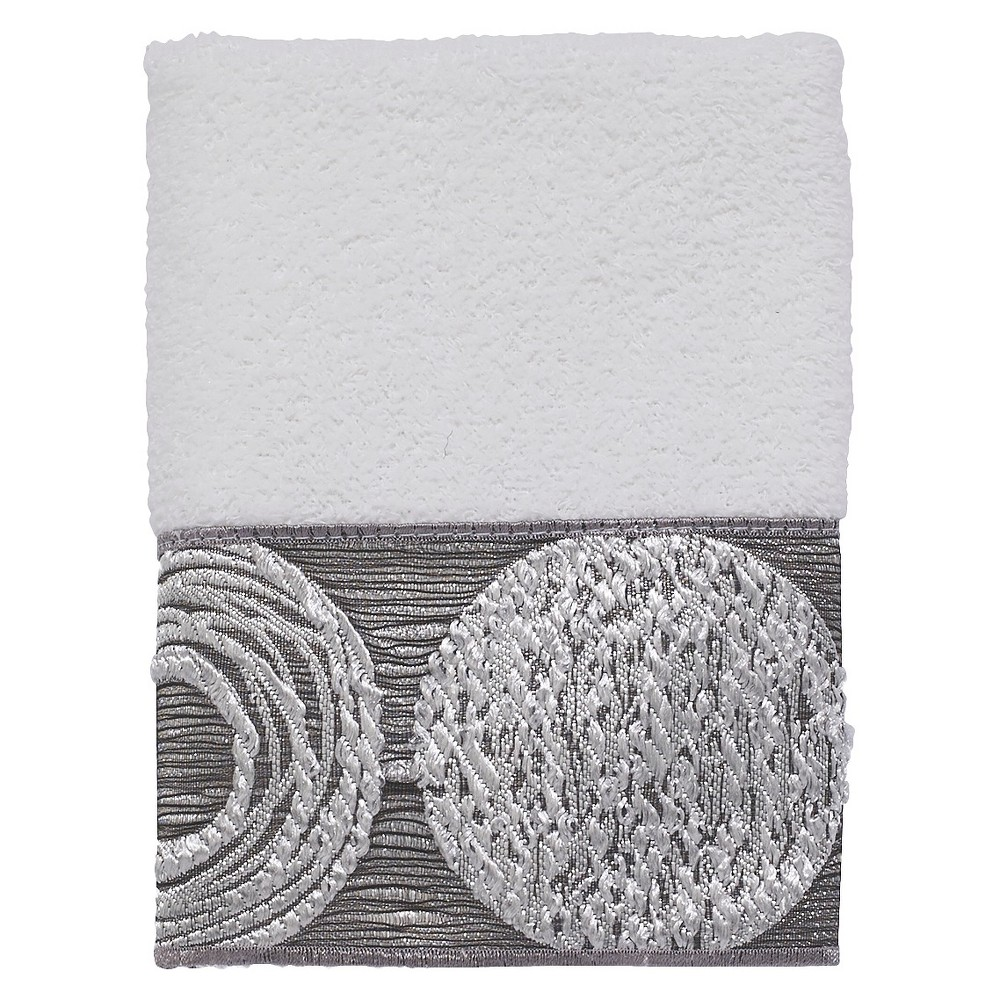 Avanti Galaxy Washcloth - White