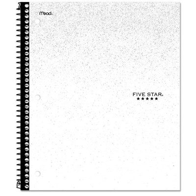 Five Star 1 Subject Wide Ruled Spiral Notebook by Five Star