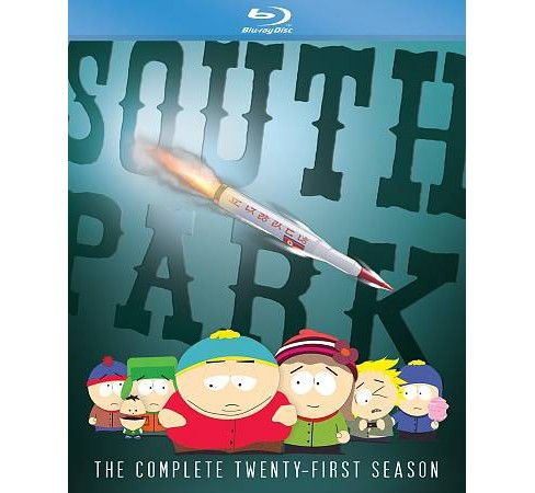 South Park:Complete Twenty First Seas (Blu-ray) - image 1 of 1