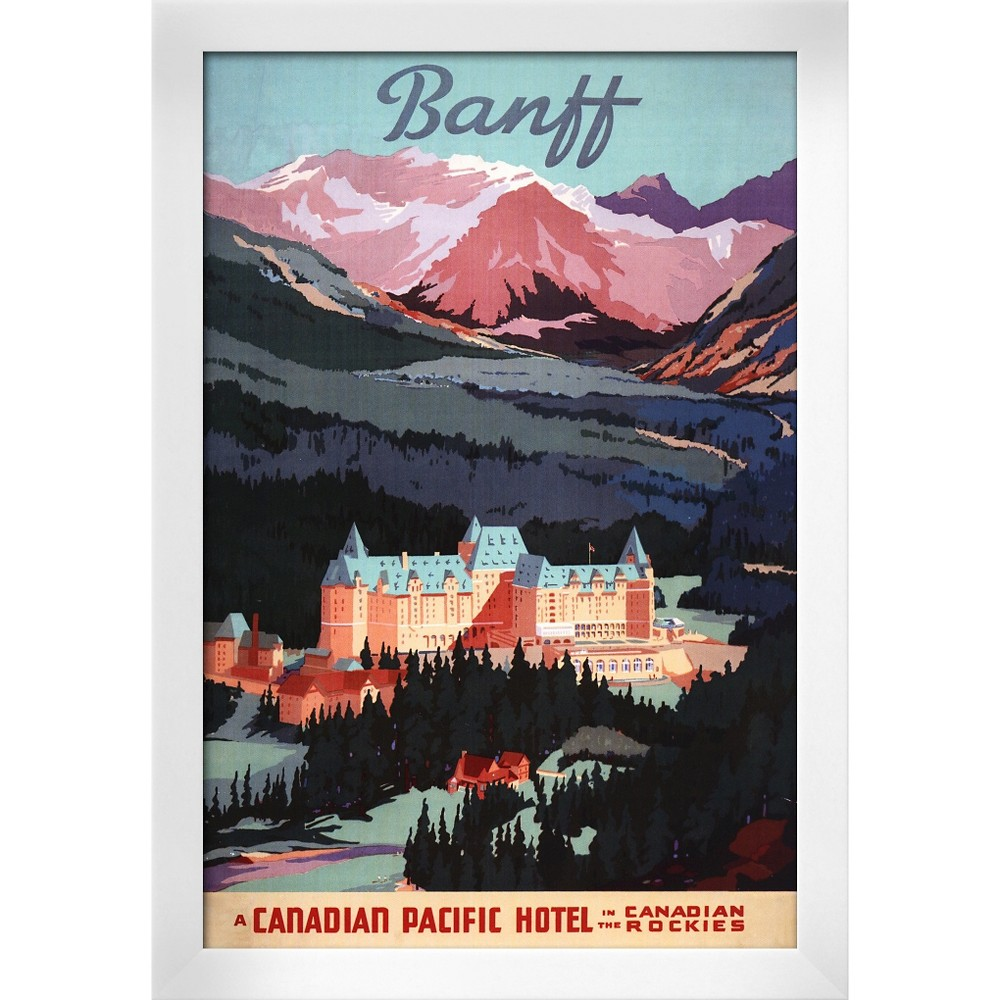 Banff, Alberta, Canada - Overview of the Banff Springs Ho...