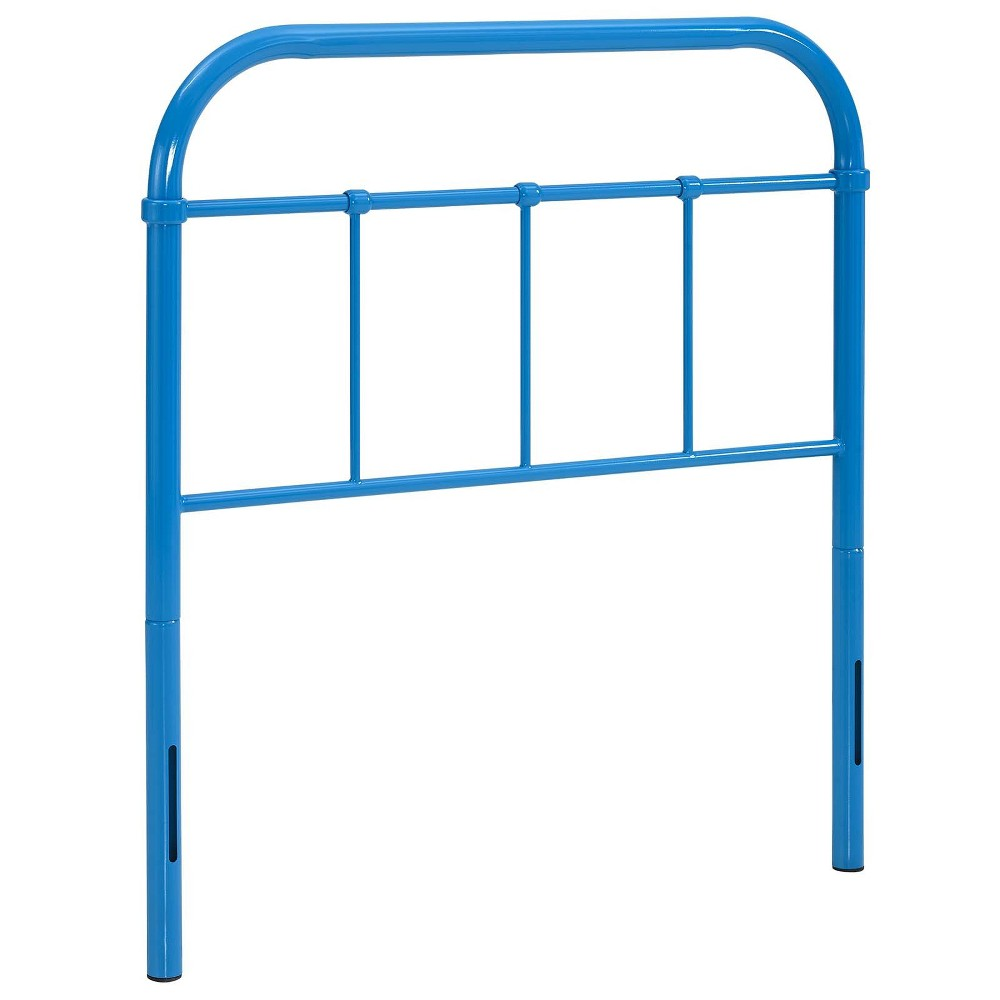 Serena Twin Steel Headboard Light Blue - Modway