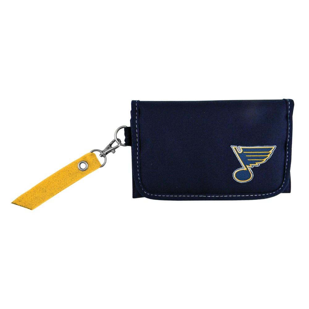 NHL St. Louis Blues Ribbon Organizer Wallet, Women's