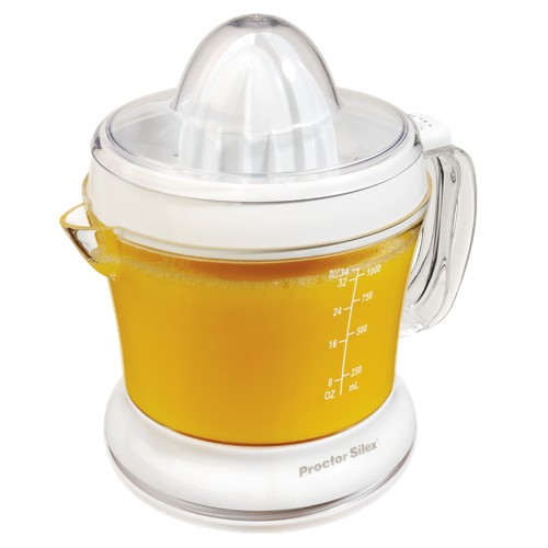 Proctor-Silex Juicit 34oz. Citrus Juicer - White 66332RY