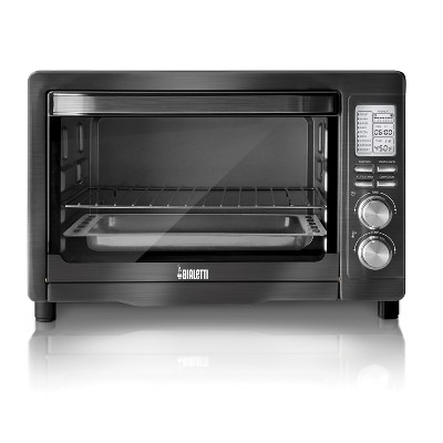 Bialetti Digital Black Stainless Toaster Oven