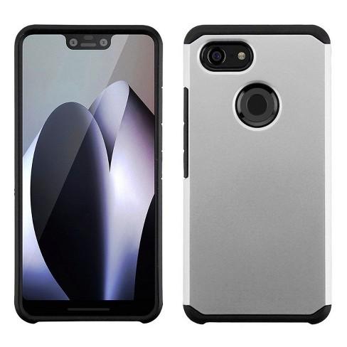 ASMYNA For Google Pixel 3 XL Silver Black Astronoot Hard TPU Hybrid Plastic Case - image 1 of 1