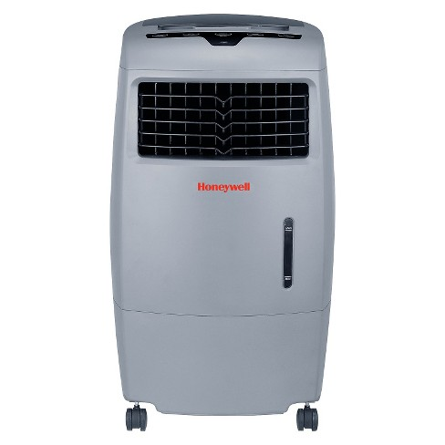 Honeywell -  52 Pt. Indoor/Outdoor Portable Evaporative Air Cooler with Remote Control - Gray - image 1 of 1