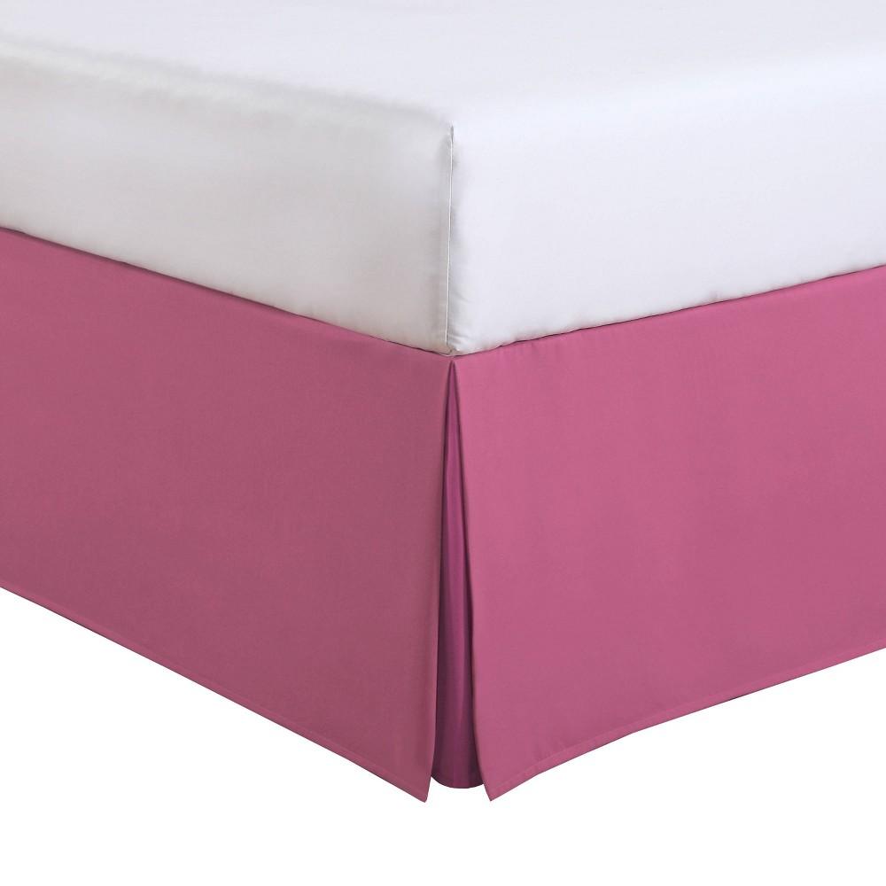Image of Luxury Hotel Kids Full Kids Tailored Bed Skirt Pink